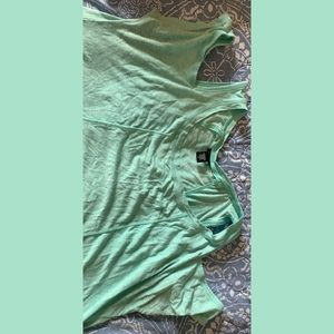 Torrid light teal shirt